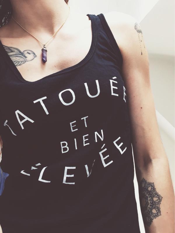 tatouée et bien elevée